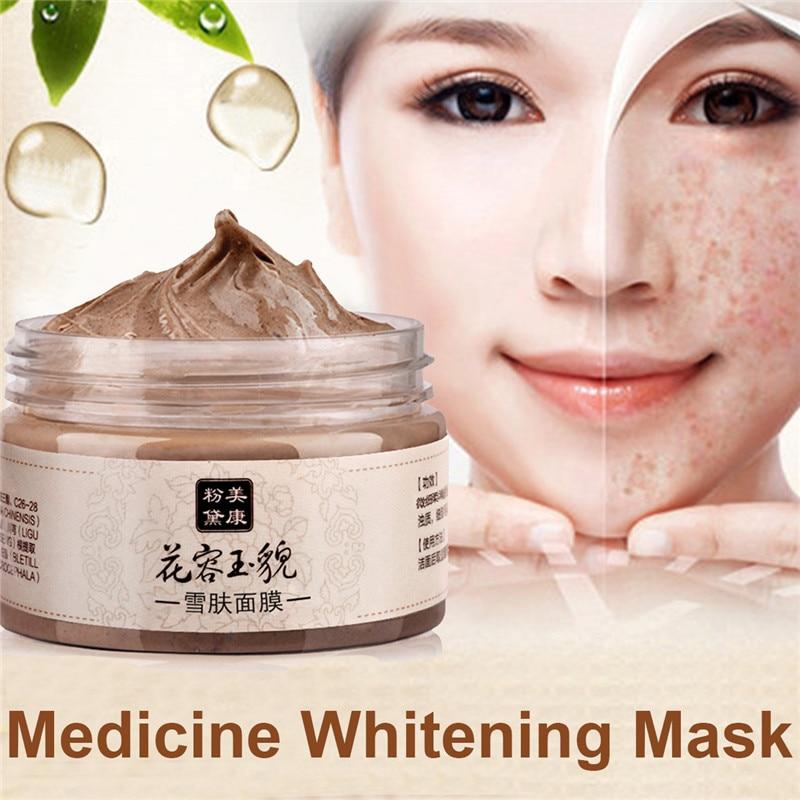 Chinesische Medizin Reinigung Gesichtsmaske 120g Tiefenreinigung Akne Behandlung Schwarz Kopf Whitening Cream Feuchtigkeitsspendende Gesichtsmasken