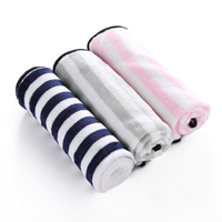 TINGHAO Striped Warm Soft Plush Pet Blanket For Couch Car Trunk Cage Kennel Dog House