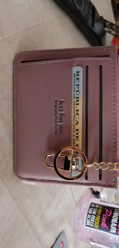 Nieuwe aankomst damesmode duurzame PU multi-lagen creditcards houder portemonnee MINI munten tickets zaak draagbare kleine portemonnees photo review