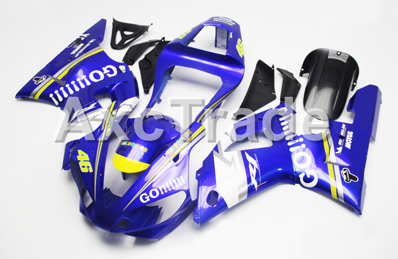 Motorcycle Fairings For Yamaha YZF1000 YZF 1000 R1 YZF-R1 2000 2001 00 01 ABS Plastic Injection Molding Fairing Bodywork Kit 204 injection molding motorcycle abs plastic bodywork fairing kit fit for yamaha yzf1000 r1 2015 2016 2017 colours fairing parts yzf