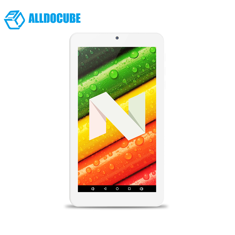 7 inch 1024*600 IPS ALLDOCUBE Tablet PC C1 RK3126 Quad Core Android7.1 1GB Ram 8GB Rom knc md716e 7 ips rk3188 android 4 4 quad core tablet pc w 1gb ram 8gb rom white