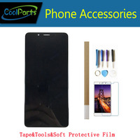 1PC/Lot High Quality 5.7 Inch For ZTE Nubia Z18 Mini NX611J LCD Display And Touch Screen Assembly Black Color With Kits
