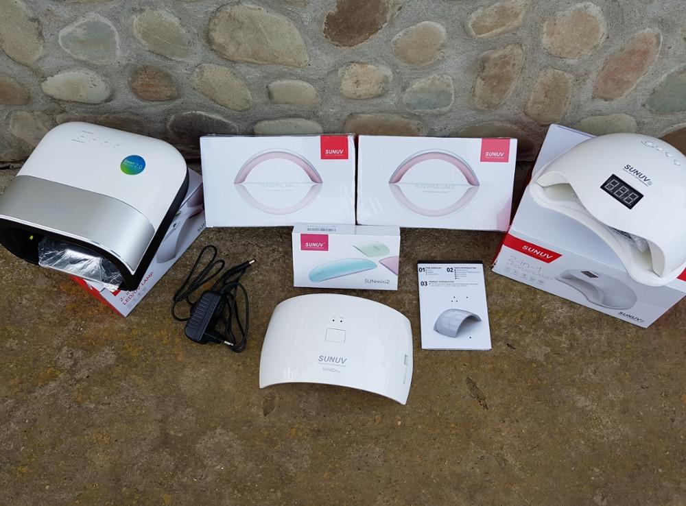 SUNUV Сушилка для ногтей SUNmini2 плюс УФ светодиодный Lamp15 светодиодный s отверждения ноготь большого пальца Маникюр Педикюр быстрее USB зарядка Европа адаптер