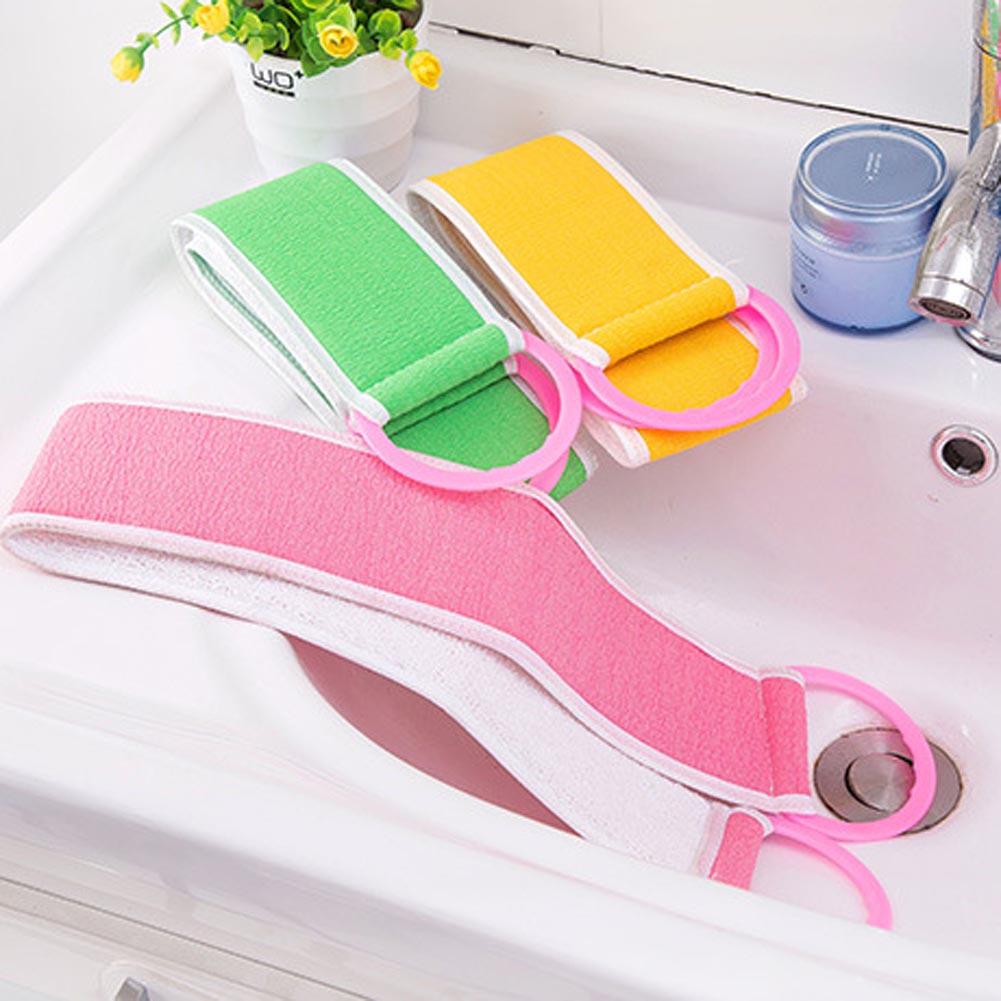 Random color twist bath bar back bath towel thickened double-sided rubbing long strip strong rubbing bathroom bath towel