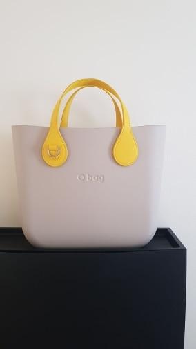 Tanqu Short Long Handle for O Bag with D Buckle Teardrop End Faux Leather Price Handles for OBag Belt Handbag Part photo review