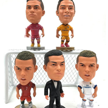 6.5cm Madrid CR7 Cristiano Ronaldo Figure Jersey Football Portugal Real CR7 Ronaldo 2016 Toy(China)