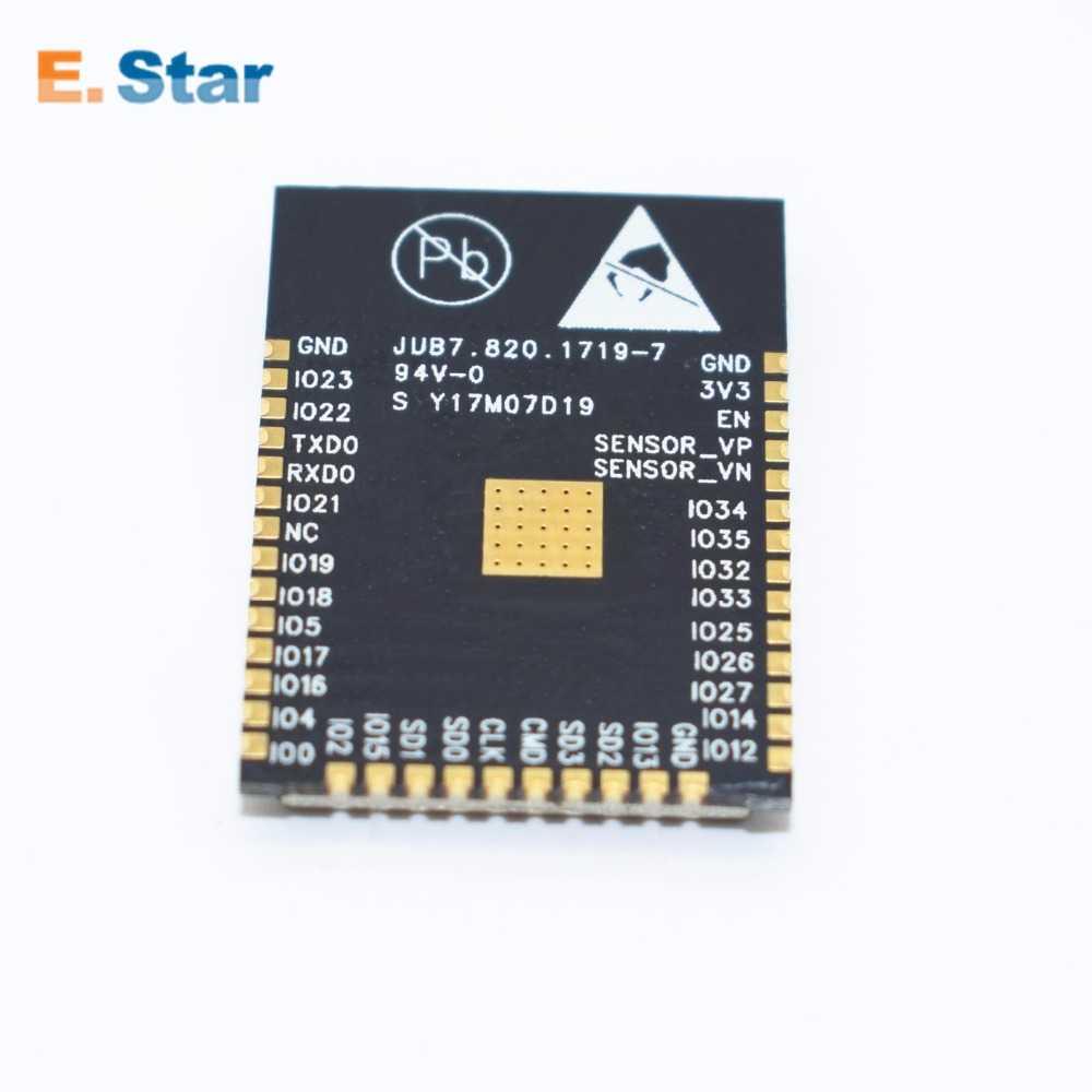 1 pièces ESP-32S ESP-WROOM-32 ESP32 ESP-32 Bluetooth et WIFI double cœur CPU avec faible consommation d'énergie MCU ESP-32