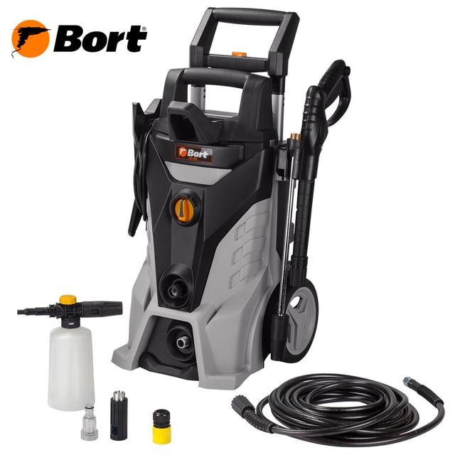 Мойка высокого давления Bort KEX-2500 (2400Вт, производительность до 480л/час, самостоятельный забор воды