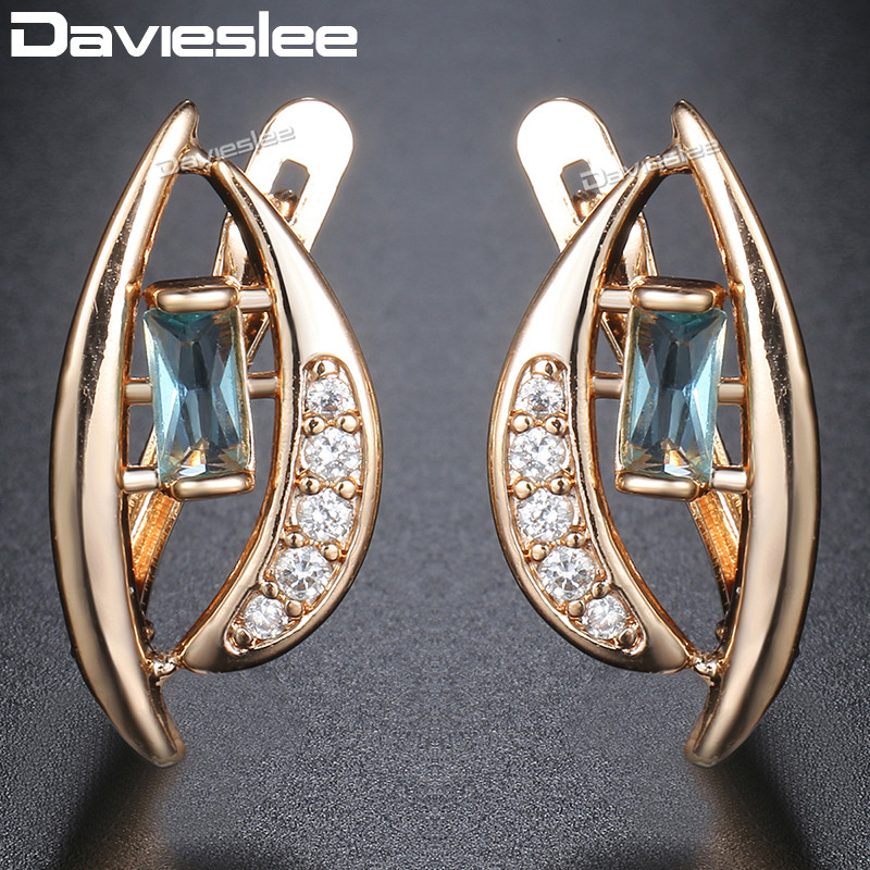 d6e240db9 Davieslee Jewelry Set Women Cz 585 Rose Gold Filled - Year of Clean ...