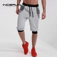 Men S Brand Clothing 2017 Calf Length Bermuda Shorts Casual Joggers Elastic Cuff Short Sweatpants Trouser