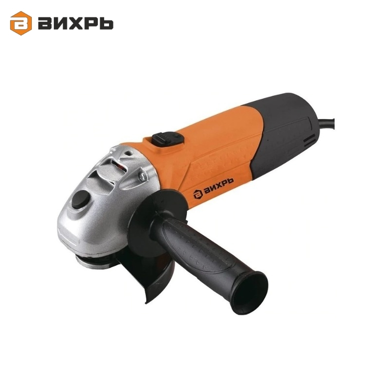 Angle grinder (bulgarian) VIHR USHM-125/1100 for grinding or cutting metal Electric portable grinder Angle drive grinder цена и фото