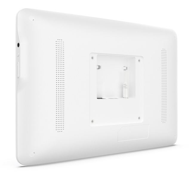 13.3 inch Android POE tablet pc in white ideal for hospitals, health care centers (1920*1080, IPS, Rockchip3288, 2GB DDR3, 16GB)