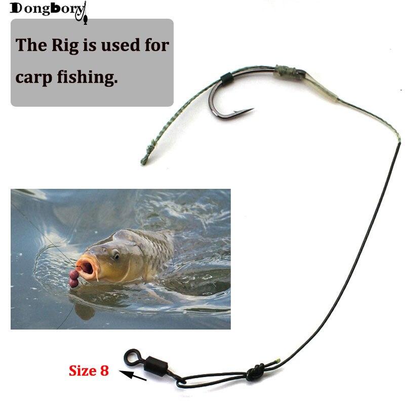 equipamentos de cabelo carpa gancho de pesca