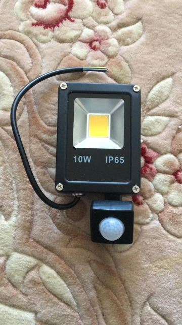 Motion Sensor LED Flood Light 10W 30W 50W 220V Floodlights Lamp IP65 searching Reflector foco led exterior Outdoor Spot Light