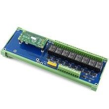 Shenzhenmaker store raspberry pi 확장 보드, rpi 모든 시리즈 용 8 채널 릴레이 채널, 온보드 led, 접촉 형태: SPDT NO, nc