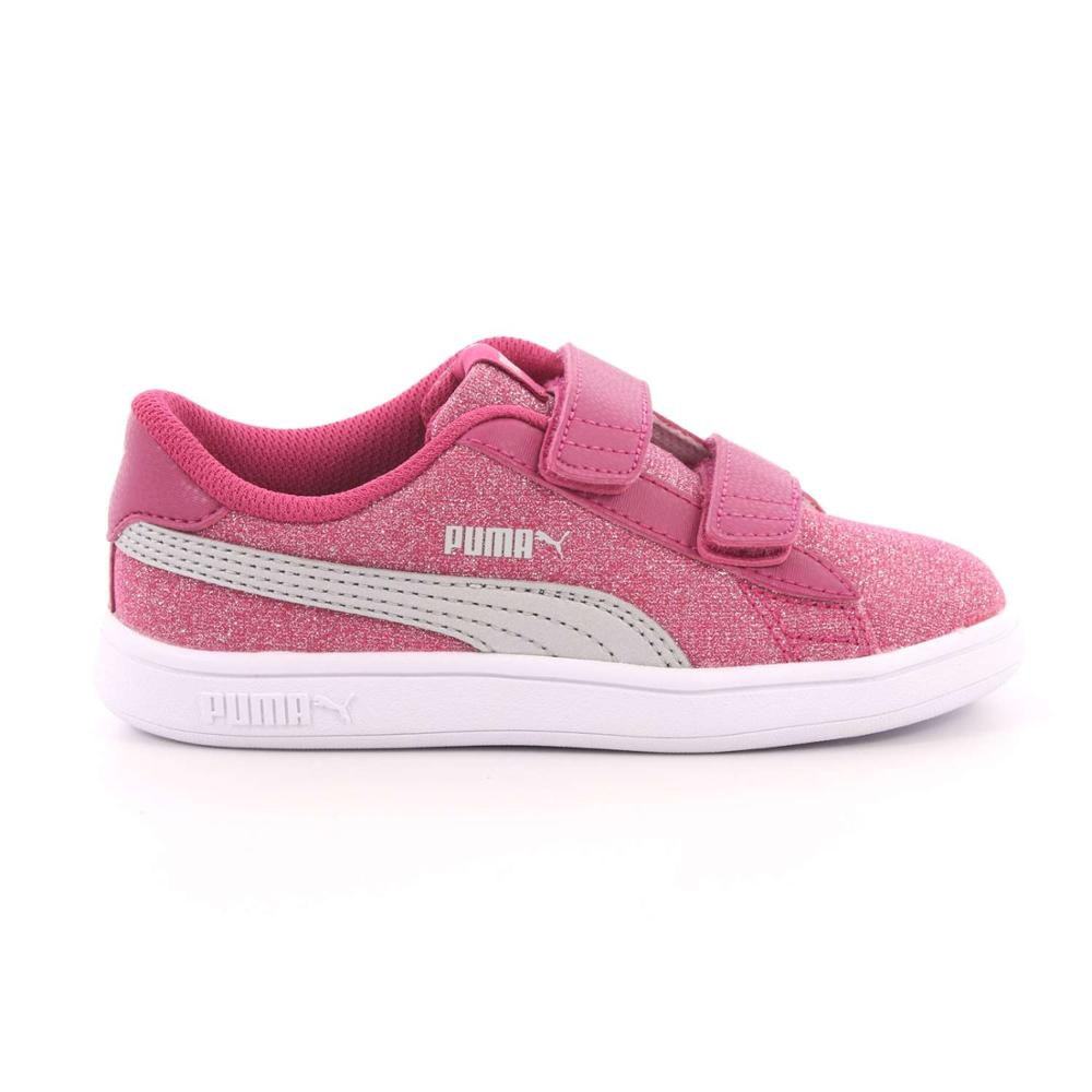 a2e748ab57f85e Puma Smash v2 Glitz Glam V Inf Zapatillas Nina-in Athletic Shoes ...