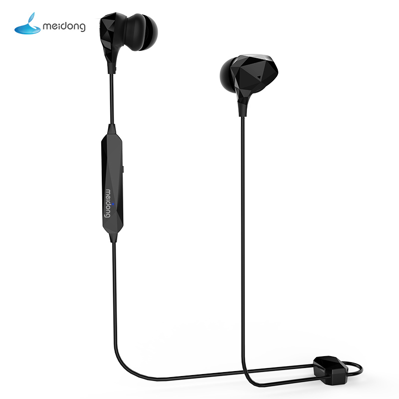 Meidong Bluetooth Headphones Wireless Earbuds: Meidong He8b Diamond Version Active Noise Reduction Bluetooth Headset Wireless In Ear Sports