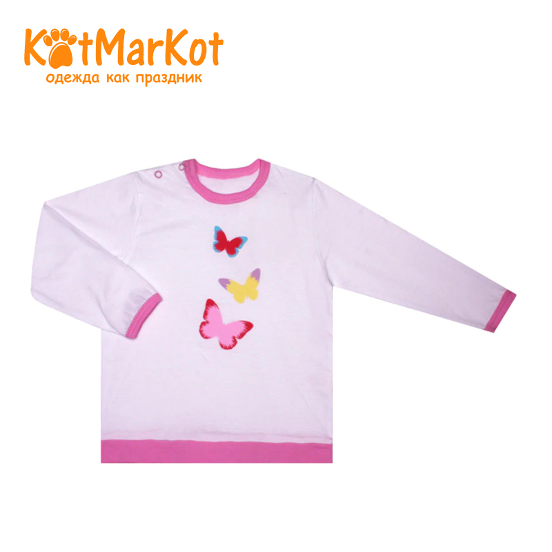 Фото - Blouse Kotmarkot 7853 children clothing cotton for baby girls kid clothes [available with 10 11] blouse clothing for girls