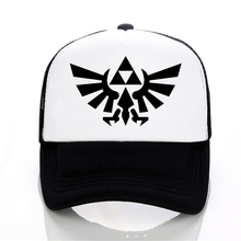 New Zelda Baseball caps funny men hat Summer leisure The Legend of snapback hats women fashion Mesh trucker cap