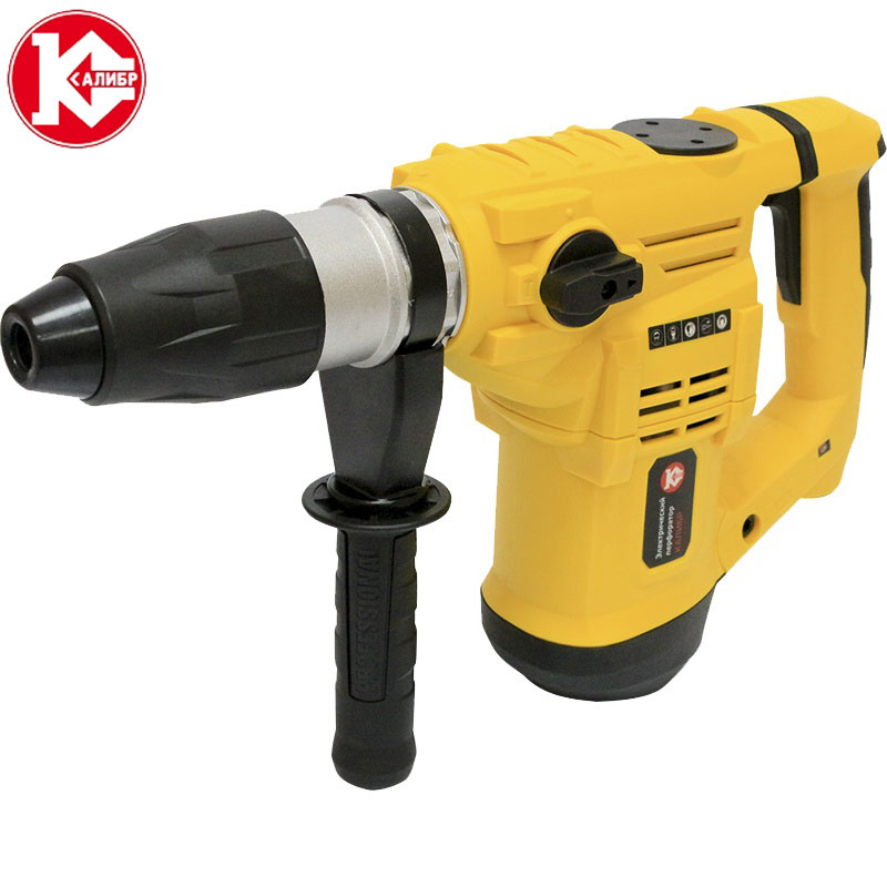 Kalibr EP-1500/40m Electric Rotary Hammer with Accessories Impact Drill Power Drill Electric Drill 4pcs door hinge drill bit set precisely positioned for woodworking hole dilating drill m25