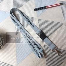 200 Stks/partij Custom Ontwerp Lanyards Aangepaste Polyester Nek Lanyard Met Uw Eigen Logo Gedrukt Door Fedex Express
