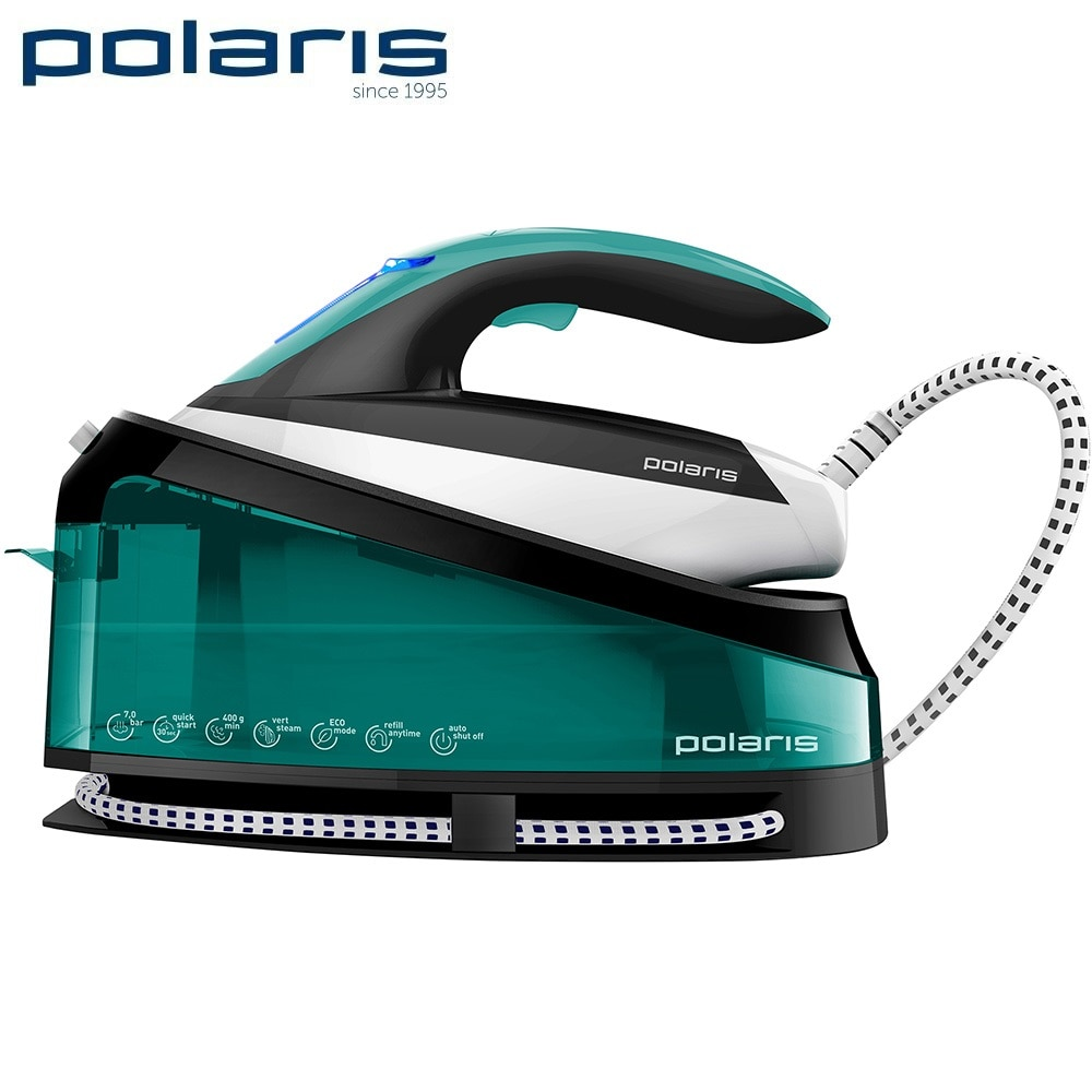 Handheld Steam Cleaner Polaris PSS 7510K Household appliances for kitchen Electric Cleaning steam High pressure cleaner ir 5409 mixer household mini handheld electric for whipping in a cup powered by 2 aa batteries