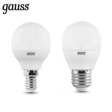 Лампа светодиодная шар G45 Gauss LED Elementary Globe 6W / 8W / 10W, E14 / E27, 2700K / 4100K