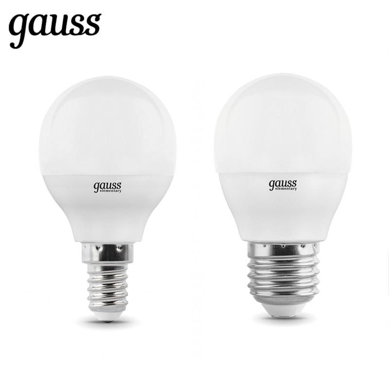 LED Lamp Bulb Ball Diode E14 E27 G45 6W 8W 10W 2700K 4000K Cold Neutral Warm Light Gauss Lampada Lamp Light Bulb Globe