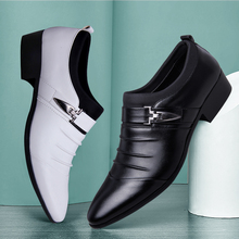 Sports Shoes Man Pointed Youth Enterprise Meet Dance Men Shoes Trend Wild Men British Shoes Ballroom Dancing Tide Shoes Sneakers