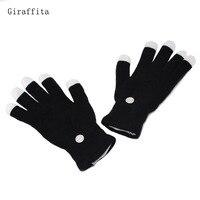 Giraffita Flashing Fingertip Light 7 Mode LED Gloves Mittens Costumes Rave Party Skating Riding