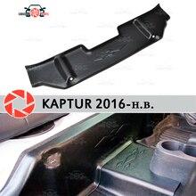 Накладки под задние сиденья чехлы для Renault Kaptur 2016-на ковровое покрытие отделка Аксессуары защита ковра Стайлинг автомобиля