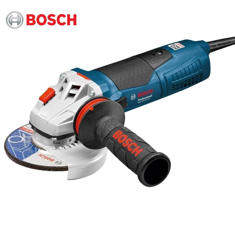 Angle grinder Bosch GWS17-125 CIEV kalibr mshu 125 955 electric angle grinder polisher machine hand wheel grinder tool