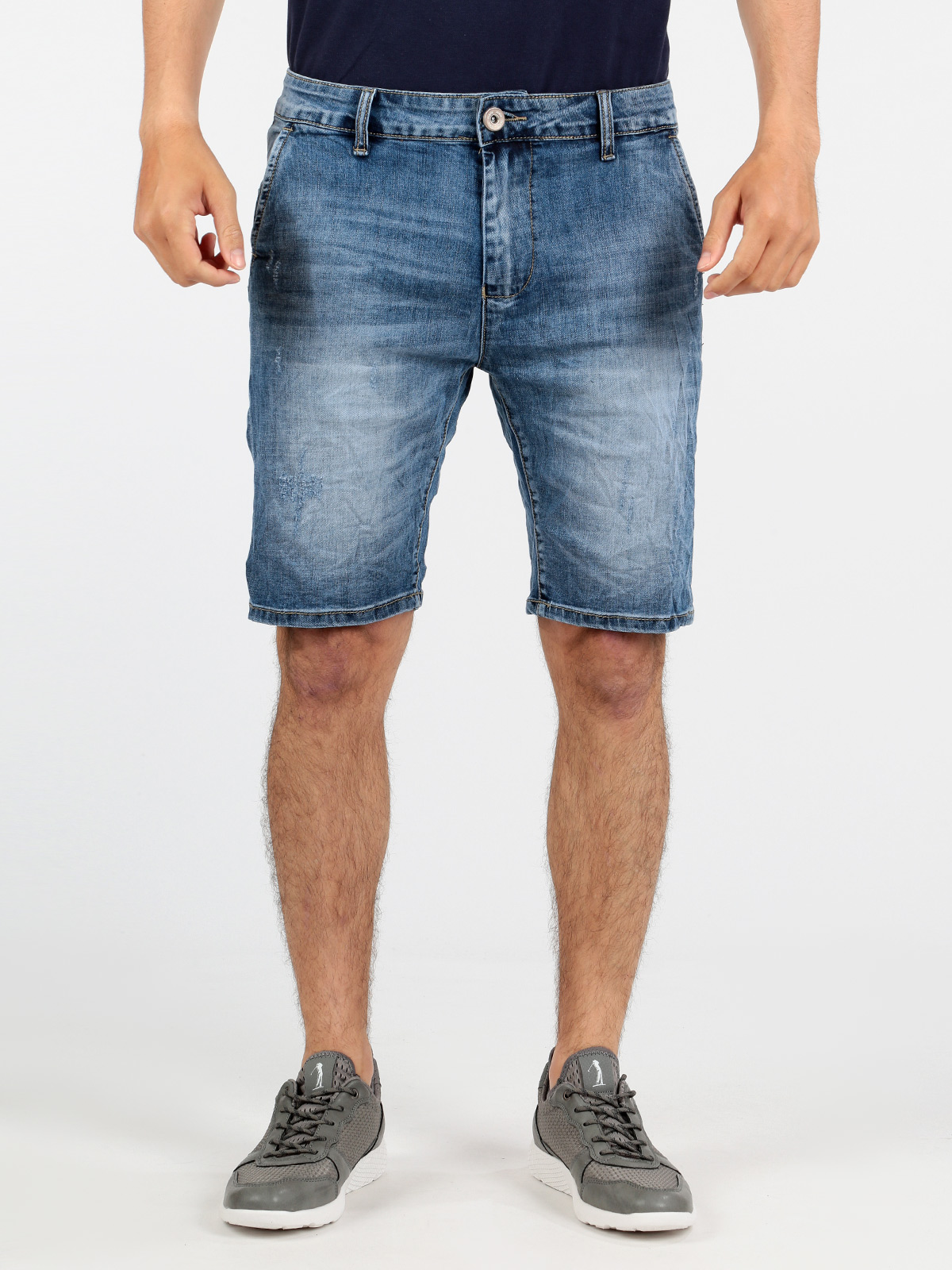 Bermuda Jeans Washed-out
