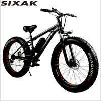 SIXAK override lithium electric snow bike /LCD instrument booster / electric bicycle / power assisted electric vehicle