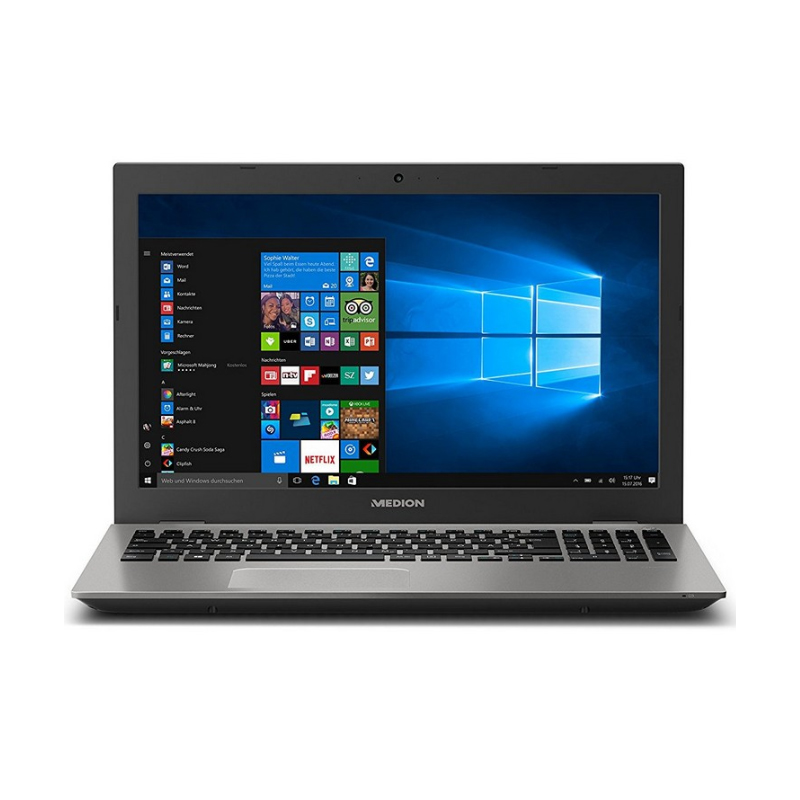 ORDENADOR PORTÁTIL 15 ''-MEDION AKOYA P6687-INTEL I5-8250U/RAM 8GB /256 SSD/MX 150 2 GB-Windows 10 Home QWERTY-ESPAÑOL