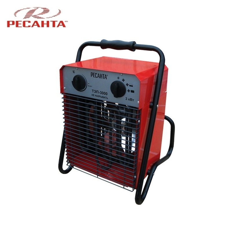 Electric heat gun TEP-3000 Hotplate Facility heater Area heater Space heater electric heat gun resanta tep 2000n compact