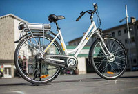 Bicicleta Electrica Paseo Ciudad Autonomia 50 km Movilidad Urbana