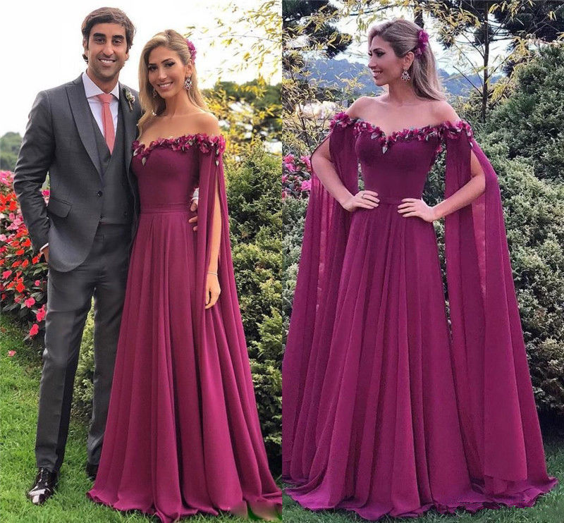 Fairy drop sleeve   Evening     Dresses   crystal prom   dress   2019 Long Formal   Dresses   Gowns vestido de noiva Sleeveless Robe De Soiree