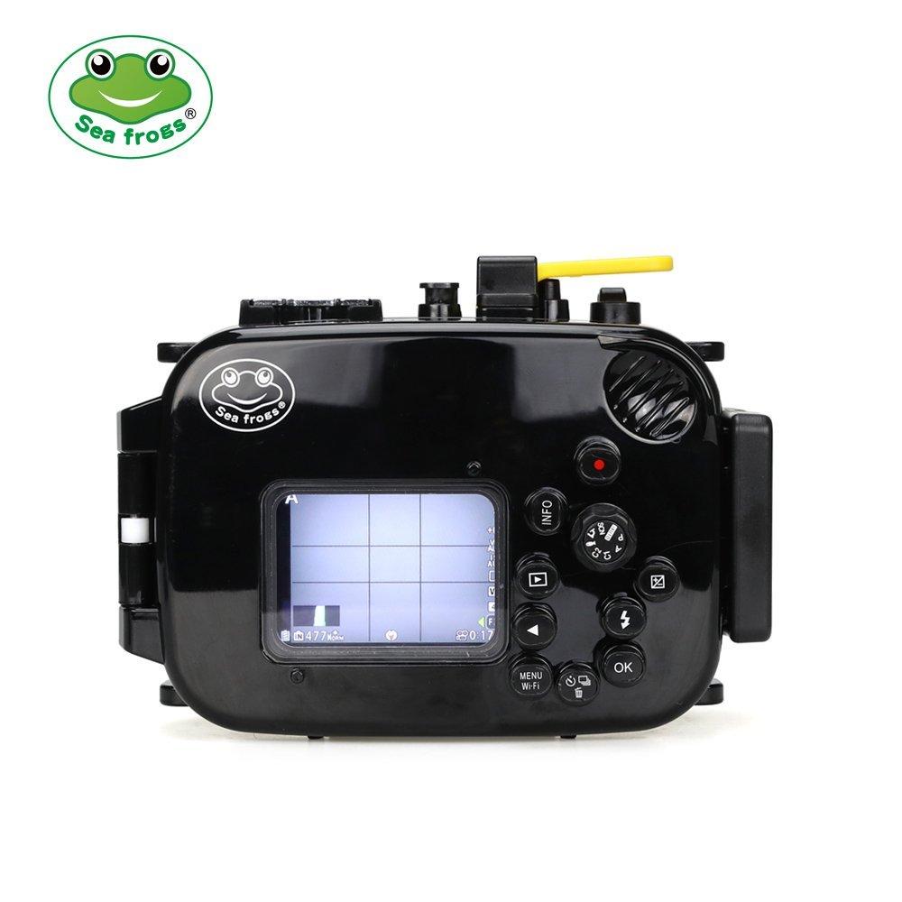 Seafrogs 60M Underwater Diving Waterproof Camera case for Olympus TG4 olympus creator soft case m черный
