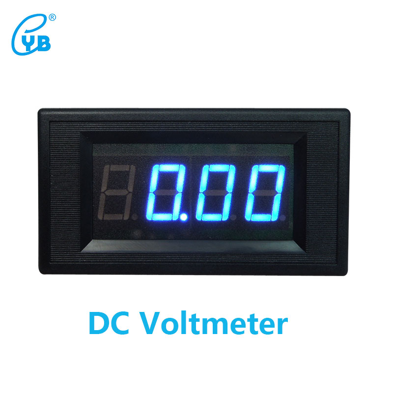 YB5135A DC Voltage Meter Three and A Half Voltmeter LED Digital Voltmeter Digital ICL 7107 DC Voltage Meter Blue Words|led digital voltmeter|digital voltmeter|voltmeter digital - title=