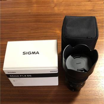 Sigma 50mm F1.4 DG HSM ART DSLR Lens For E Mount