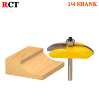 Raised Panel Router Bit Carbide Tipped Cove 1 4 Shank Cutter For Woodworking Tools