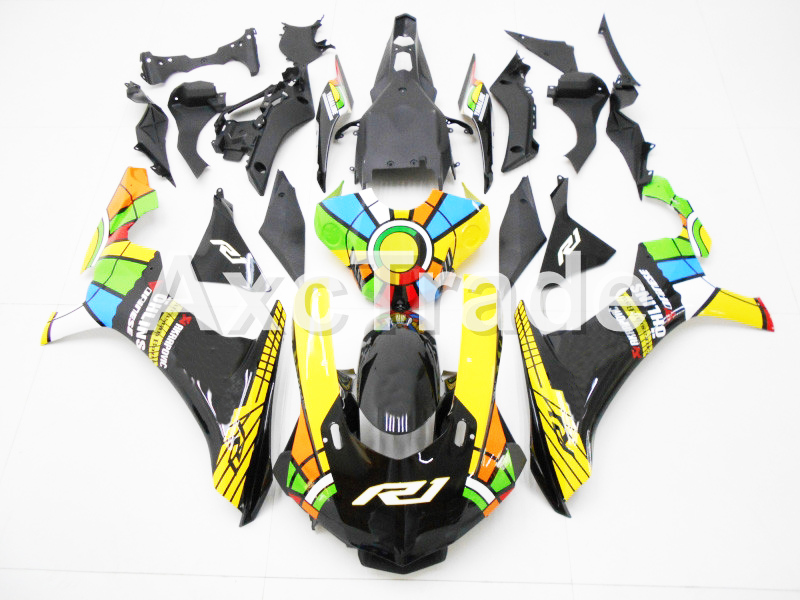Motorcycle Fairings For Yamaha YZF-R1000 YZF-R1 YZF 1000 R1 2015 2016 2017 YZF1000 ABS Plastic Injection Fairing Bodywork Kit Su injection molding motorcycle abs plastic bodywork fairing kit fit for yamaha yzf1000 r1 2015 2016 2017 colours fairing parts yzf