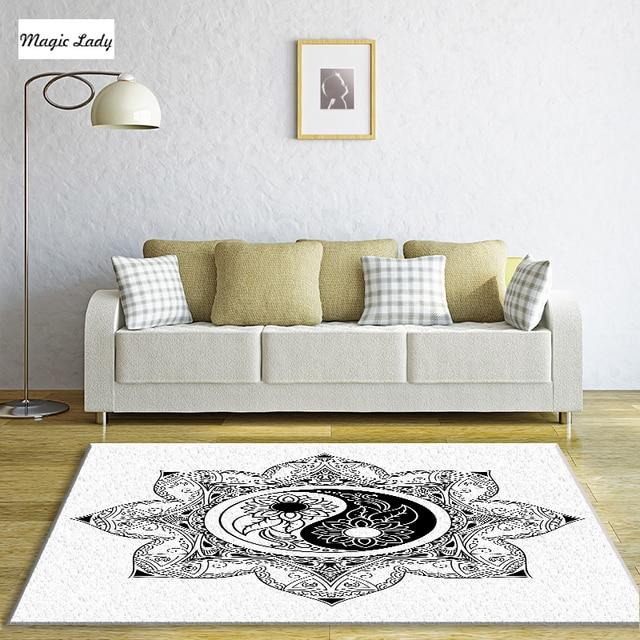 Teppich Weiß Moderne Gotische Chinesischen Wohnzimmer Schlafzimmer ...