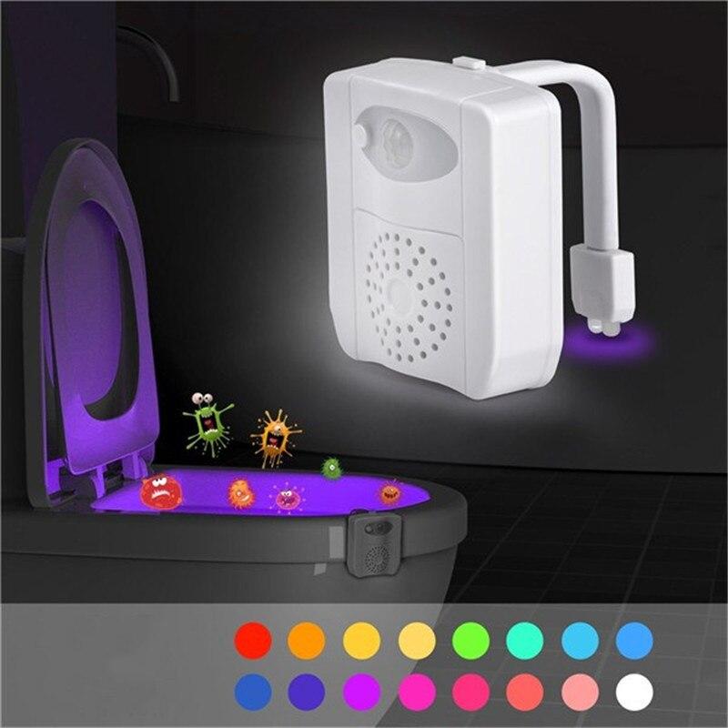 Luzes da Noite para vaso sanitário Fonte de Luz : Lâmpadas Led