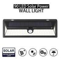 Mising IP65 Waterproof 90 LED Solar Light 2835 SMD White Solar Power Outdoor Garden Light PIR