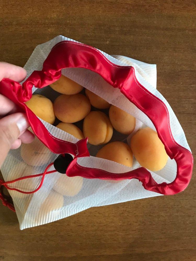 EKO Pytlík -  Opakovaně použitelné síťové sáčky pro nákup potravin 3 + 3 Zdarma photo review