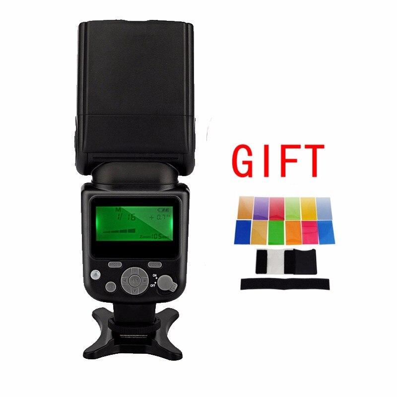 Майке mk-930 II МК 930 II ЖК-дисплей GN58 Вспышка Speedlite одной точке флэш-памяти для Canon/Nikon/Pentax/Olympus DSLR + фильтр