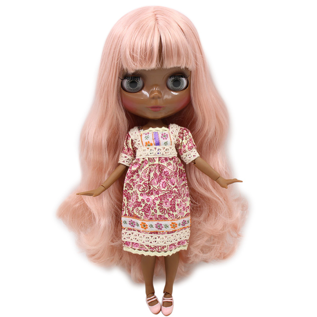 Takara 12 Neo Blythe Red Hair Nude Doll from Factory