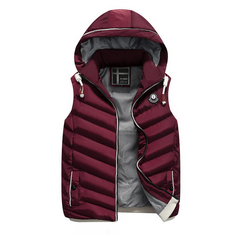 Winter men's coat vest can take off the casual coat jacket casual suit jacket casual men's wear warm and sleeveless vest bape 31 take the day off бальзам для снятия стойкого макияжа